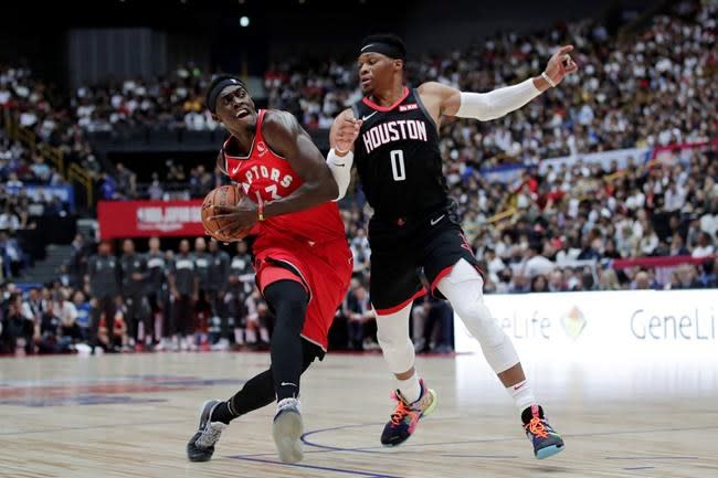 Raptors execs Ujiri, Webster in it for long haul, living bubble life with team