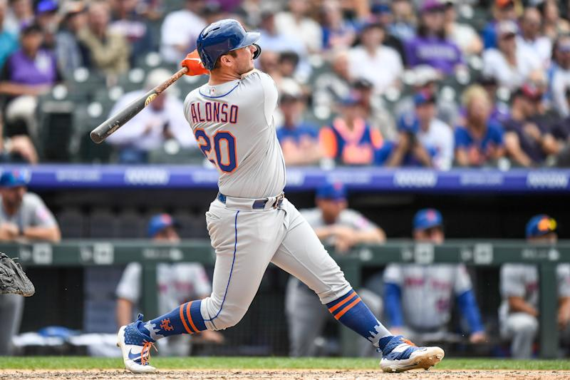 New York Mets first baseman Pete Alonso