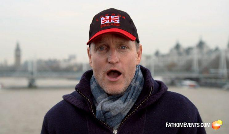 Woody Harrelson to make first ever LIVE movie - Credit: Fathom Events