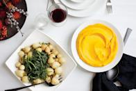 """Chef Anita Lo glazes delicately flavored little turnips with butter and a touch of sugar, then serves them with their tender greens. <a href=""""https://www.epicurious.com/recipes/food/views/glazed-hakurei-turnips-368274?mbid=synd_yahoo_rss"""" rel=""""nofollow noopener"""" target=""""_blank"""" data-ylk=""""slk:See recipe."""" class=""""link rapid-noclick-resp"""">See recipe.</a>"""