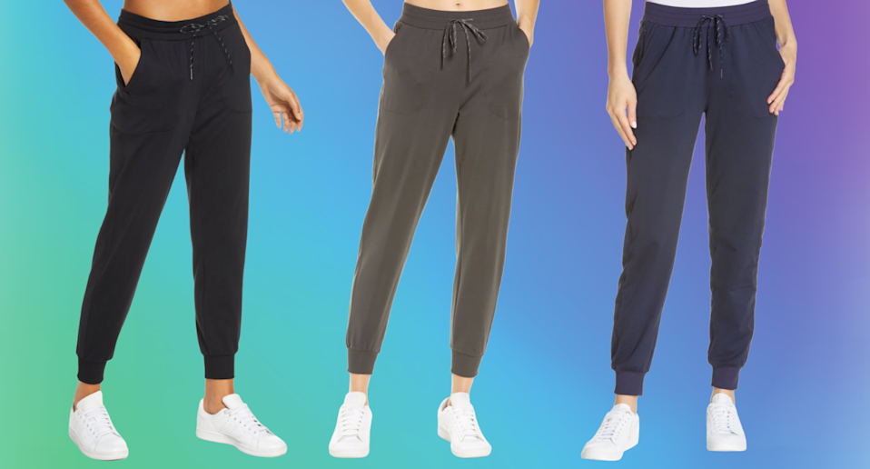 'These feel like butter': Nordstrom shoppers love these ultra-flattering joggers (Photos via Nordstrom)