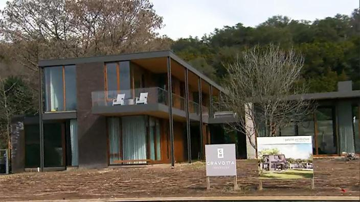 Austin, Texas, is witnessing a housing boom. / Credit: CBS News