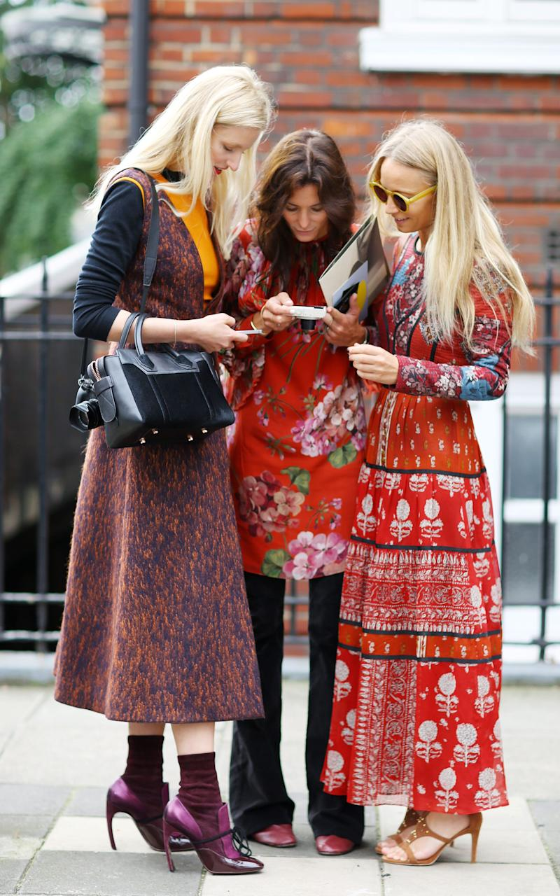 Candice Lake, Hedvig Opshaug and Martha Ward - Credit: Rex