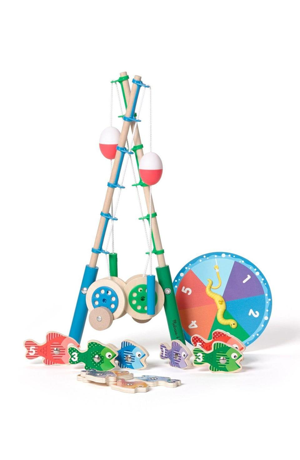"<p><strong>MELISSA & DOUG</strong></p><p>nordstrom.com</p><p><strong>$24.99</strong></p><p><a href=""https://go.redirectingat.com?id=74968X1596630&url=https%3A%2F%2Fshop.nordstrom.com%2Fs%2Fmelissa-doug-catch-count-fishing-game%2F3873198&sref=https%3A%2F%2Fwww.redbookmag.com%2Flife%2Fg34811477%2Fblack-friday-cyber-monday-baby-deals-2020%2F"" rel=""nofollow noopener"" target=""_blank"" data-ylk=""slk:Shop Now"" class=""link rapid-noclick-resp"">Shop Now</a></p><p>Easy as 1, 2, 3.</p>"