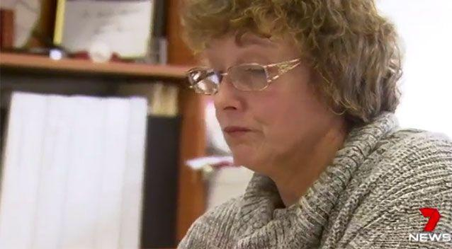 Ms McDougall managed to get her service back up and running after it went down on Friday. Source: 7 News