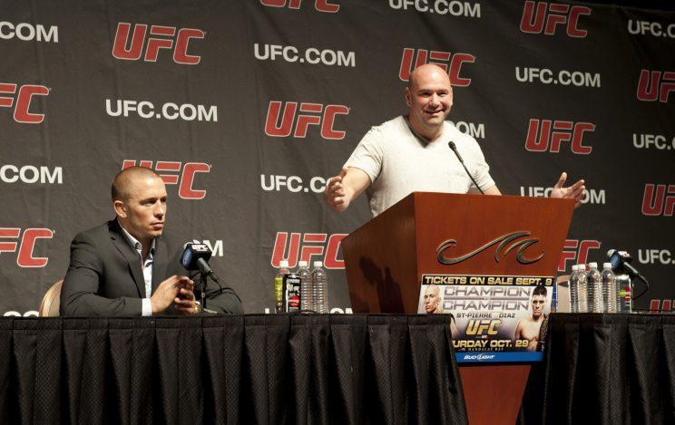 Is Georges St-Pierre headed for a prolonged legal battle with the UFC? (Getty)