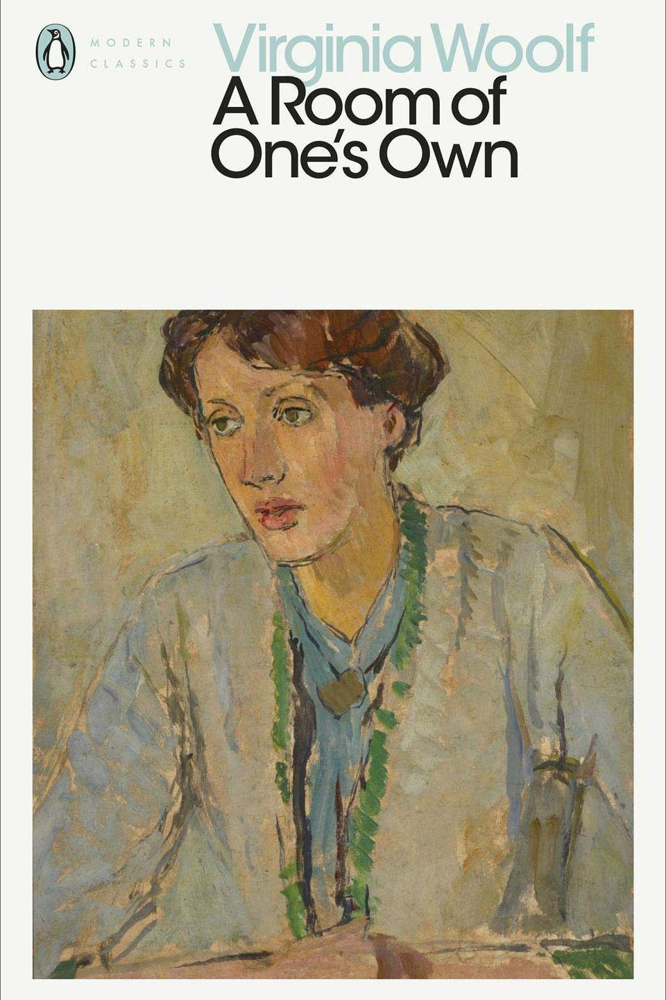 """<p><a class=""""link rapid-noclick-resp"""" href=""""https://www.amazon.co.uk/Room-Ones-Penguin-Modern-Classics/dp/0241436281/ref=asc_df_0241436281/?tag=hearstuk-yahoo-21&linkCode=df0&hvadid=463167315269&hvnetw=g&hvrand=11247952436201746240&hvdev=c&hvlocphy=9073583&hvtargid=pla-955344053492&psc=1&psc=1&th=1&ascsubtag=%5Bartid%7C1927.g.35935432%5Bsrc%7Cyahoo-uk"""" rel=""""nofollow noopener"""" target=""""_blank"""" data-ylk=""""slk:SHOP NOW"""">SHOP NOW</a></p><p>""""England is under the rule of a patriarchy,"""" writes Virginia Woolf in her seminal book, A Room Of One's Own. The author, curiously, was never keen on the term feminist, but in this short novel, she passionately and articulately writes about female exclusion – from independence, income and education. Her argument that the key to female creative liberation is a room, along with independence, is as valid now as it was then. In a world dominated by men, Woolf asserted her presence and creativity, paving the way for many to follow in her footsteps. </p>"""