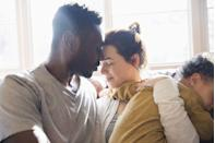 "<p>It doesn't always have to be about the sex. 'Many couples are too busy to touch or feel that if they do it will lead them to sex. And if they don't have time to get physical, they don't touch,' says <a href=""http://www.nyccouplestherapists.com/"" rel=""nofollow noopener"" target=""_blank"" data-ylk=""slk:Dr. Irina Firstein"" class=""link rapid-noclick-resp"">Dr. Irina Firstein</a>, a Manhattan-based couples therapist. 'This is a huge mistake. Touching is part of broad-based eroticism and does not have to be goal oriented, but rather a playful act between partners.' Time to revisit the good old days of makeout sessions.</p>"