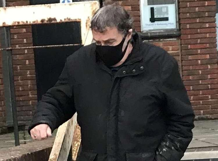 Michael Bunce, 75, pleaded guilty to six charges of sending a communication of an indecent or offensive nature. (SWNS)
