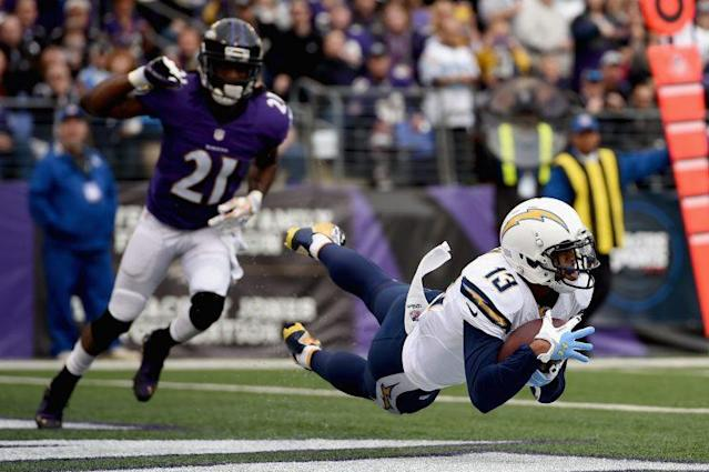 A healthy Keenan Allen would go a long way for the Chargers. (Getty)