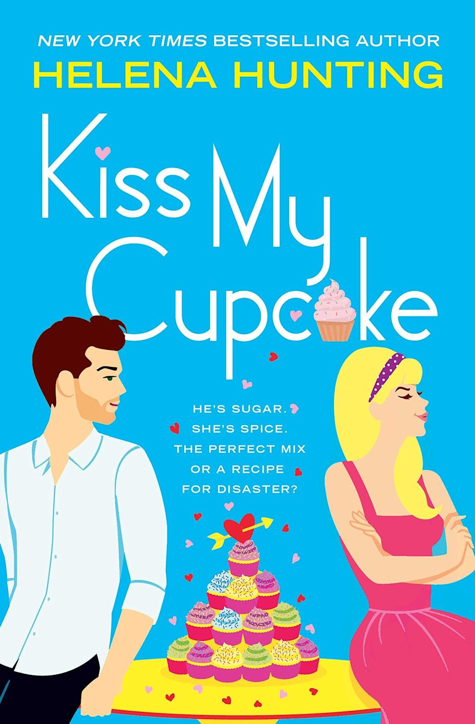 <p>Dessert lovers will enjoy sinking their teeth into <span><strong>Kiss My Cupcake</strong> by Helena Hunting</span> ($12). Blaire Calloway has worked hard to be able to open her own cupcake and cocktails shop, and won't let anything stand in her way of success - especially not Ronan Knight, who runs the popular sports bar next door. The two may constantly butt heads over winning new customers, but there's also a growing attraction they can't ignore.</p> <p>In a genre that thrives on farfetched plots (do people actually fake date in real life?!) and fast-developing romances, the thing I always appreciate from Helena Hunting's books is how realistic the dialogue and pacing are, and how she can make entirely plausible and even ordinary scenarios highly entertaining. I found this book charming, with the perfect balance of steamy and sweet - the latter of which definitely includes the delicious cupcake flavors Blaire concocts. And okay, I know I just said I love the author's realistic take on writing romance, but there is one scene in which Ronan meets Blaire's unconventional family that's SO funny in its absurdity.</p>
