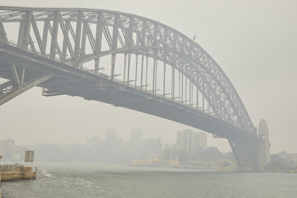 The USA has warned travellers about visiting Australia in the midst of the country's bushfire crisis. Image: Getty