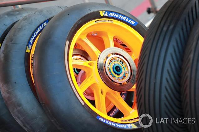 """Michelin tyre <span class=""""copyright"""">Gold and Goose / Motorsport Images</span>"""
