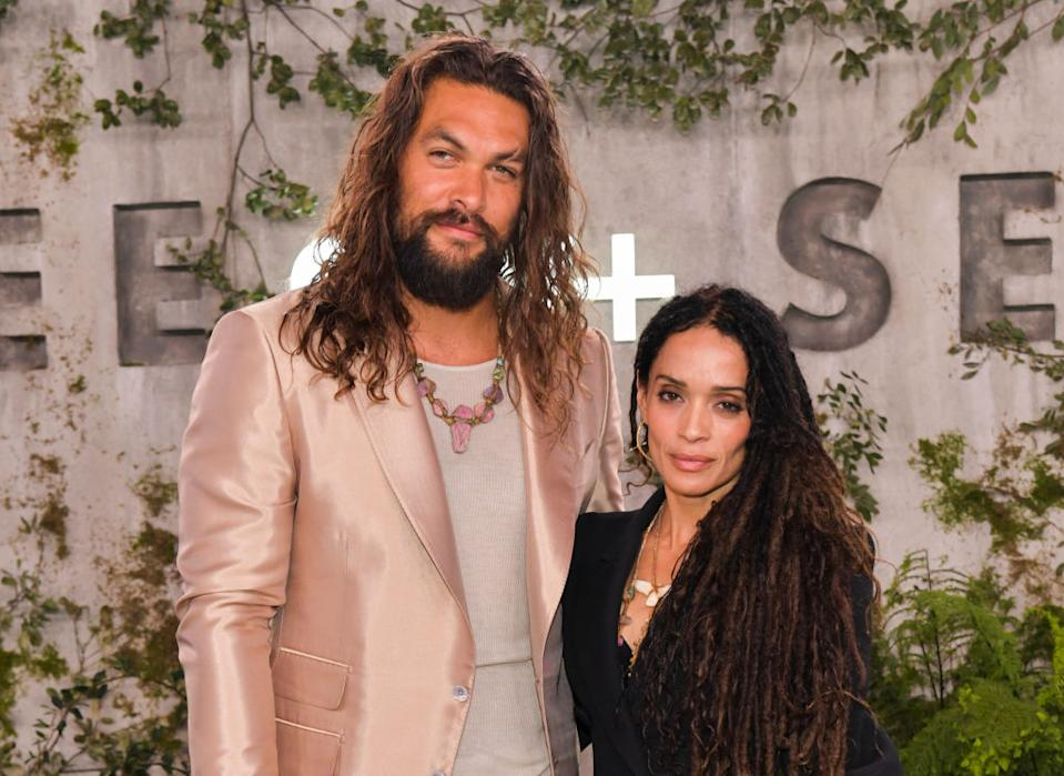 Jason Momoa and Lisa Bonet married in 2017. (Photo: Rodin Eckenroth/FilmMagic)
