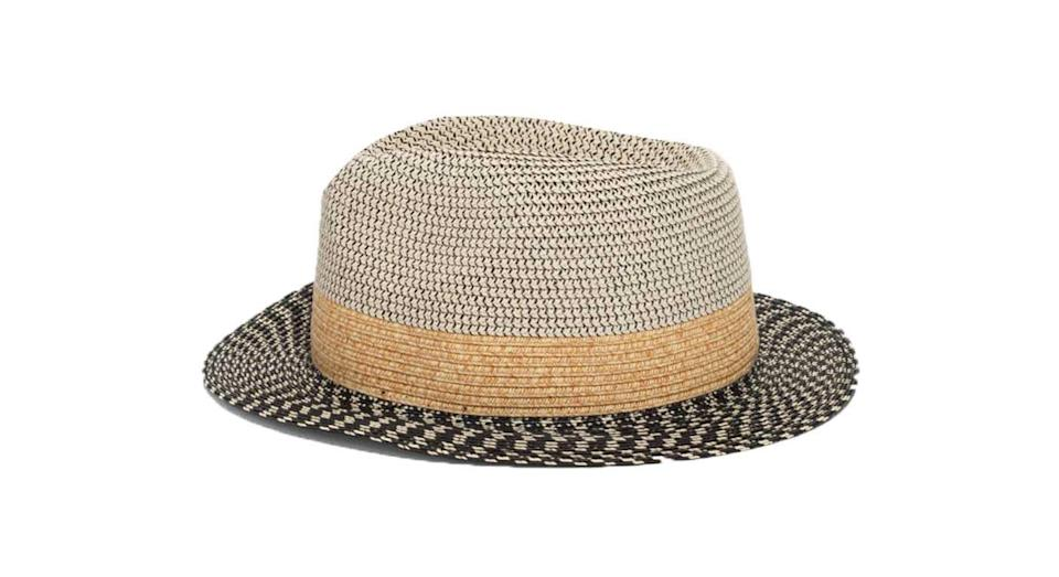 """<p>Cover-up in style with this mix'n'match patterned & Other Stories Straw Fedora Hat, £17 from <a rel=""""nofollow noopener"""" href=""""http://www.stories.com/gb/Accessories/All_accessories/Straw_Fedora_Hat/590769-0204766021.2"""" target=""""_blank"""" data-ylk=""""slk:stories.com"""" class=""""link rapid-noclick-resp"""">stories.com</a> </p>"""