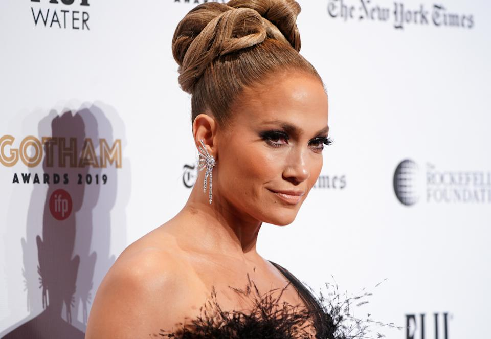 Jennifer Lopez attends the IFP's 29th Annual Gotham Independent Film Awards at Cipriani Wall Street on December 02, 2019 in New York City. (Photo by Jemal Countess/Getty Images for IFP)