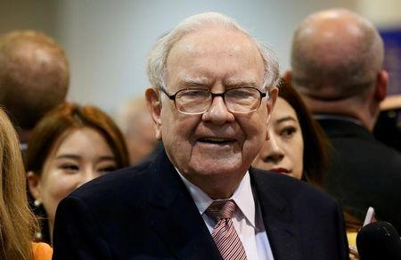 Buffett reveals Berkshire's 15 largest stock holdings - including Apple, Wells Fargo