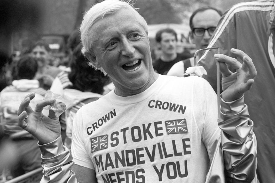 Jimmy Savile preyed on vulnerable people through his work with charities and hospitals. (Photo by PA Images via Getty Images)