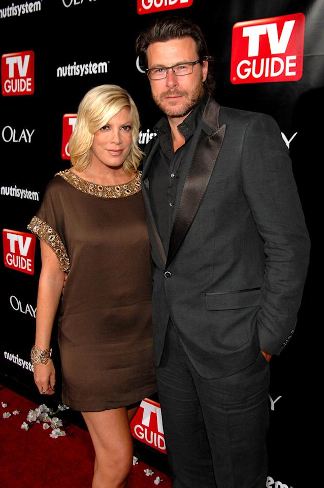 """Tori Spelling and her main squeeze Dean McDermott looked better than ever upon hitting the red carpet. John Shearer/<a href=""""http://www.wireimage.com"""" target=""""new"""">WireImage.com</a> - September 21, 2008"""