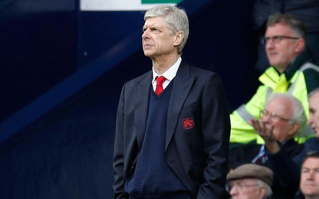 Wenger had said after the West Brom defeat that he would be making a decision soon - reuters