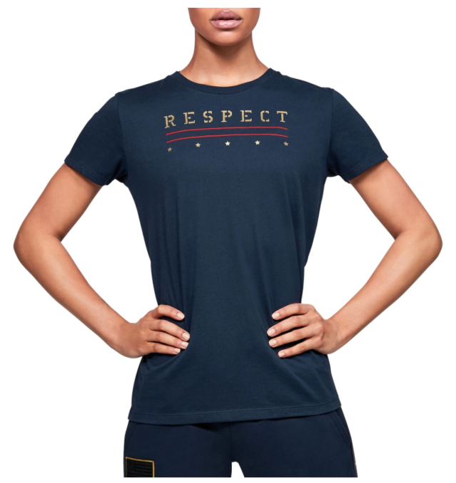 Under Armour Women's Project Rock Veterans Day T-Shirt
