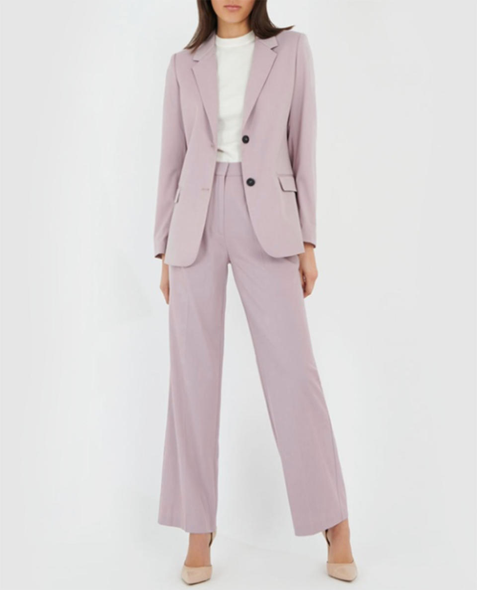 Forecast Sarina Jacket $119.99 and matching trousers $79.99 from The Iconic