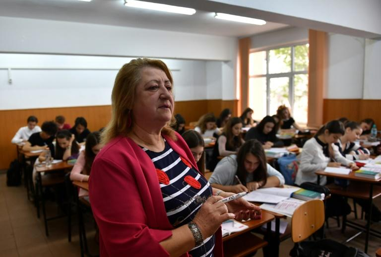 "Latin teacher Gheorghita Cucu says Romanians have a ""patriotic duty"" to learn Latin, the language of their ancestors"