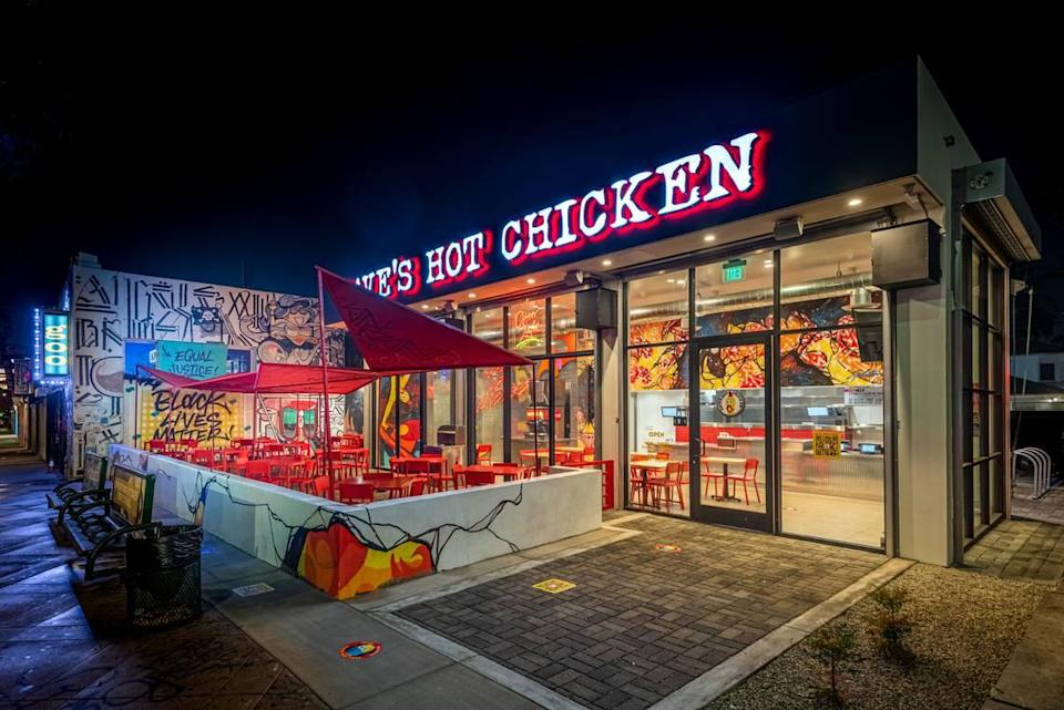 Fried chicken chain Dave's Hot Chicken looks to open as many as a dozen sites in Charlotte, home to rival Bojangles