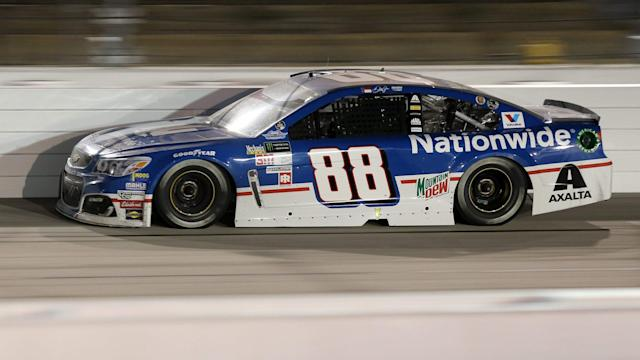 No. 88 Chevrolet had two unsecured lug nuts on its right rear after the Southern 500.