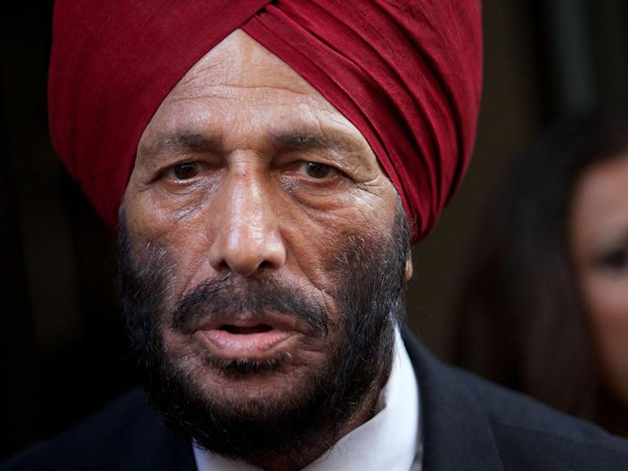 Singh went on to run for India at the Rome Olympics of 1960 and 1964 in Tokyo (AFP)