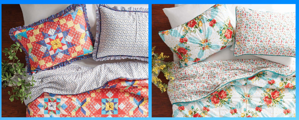 Get these gorgeous quilts for as low as $50! (Photo: Walmart)