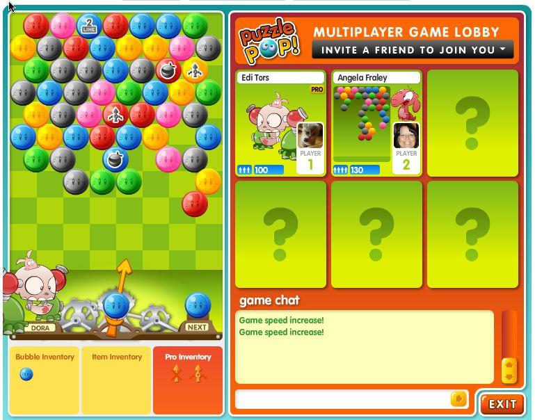 puzzle pop on facebook multiplayer