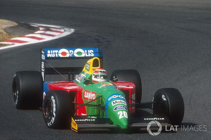 """Nelson Piquet, Benetton B190 Ford<span class=""""copyright"""">LAT Images</span>"""