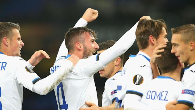 Atalanta piled further Europa League misery on Everton as Bryan Cristante and substitute Andreas Cornelius hit braces in a 5-1 rout.