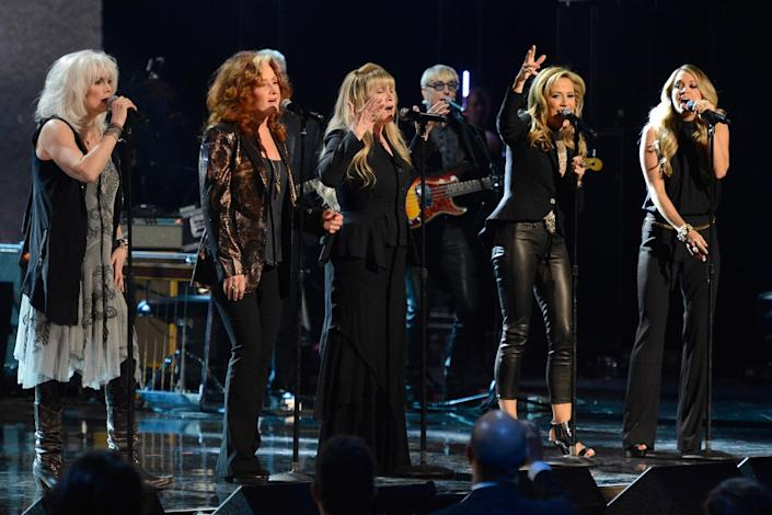 29th Annual Rock And Roll Hall Of Fame Induction Ceremony - Show - Credit: Kevin Mazur/WireImage