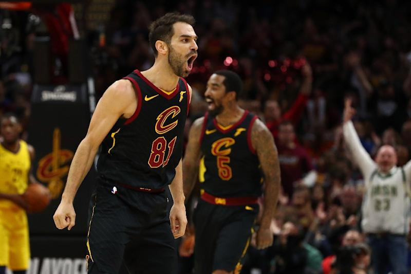 Jose Calderon a three-time Olympic medalist for Spain is trying to help the Cleveland Cavaliers claim their second title in three seasons and deny his brief-teammate Warriors their third in four years