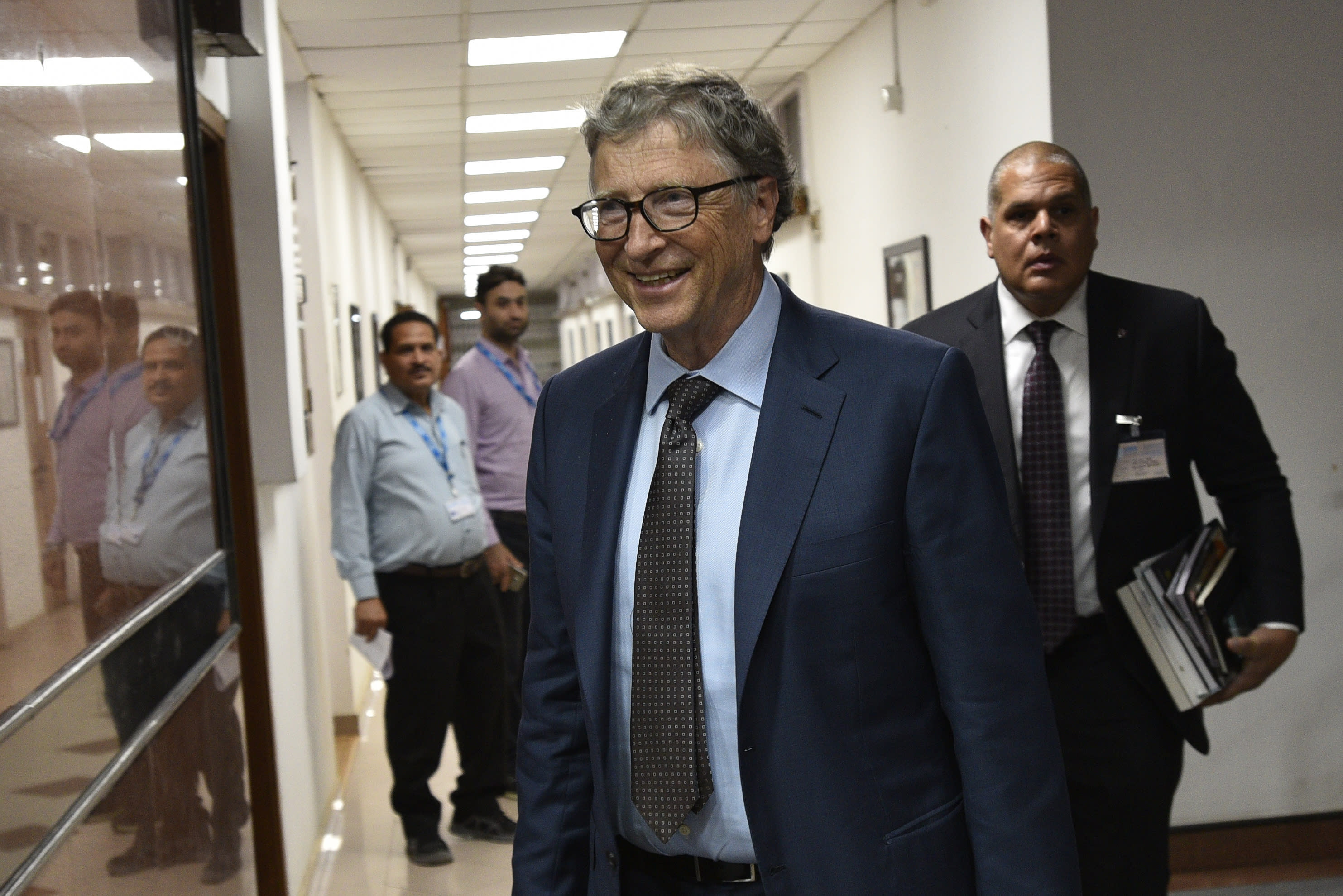 Bill Gates has been vocal throughout the pandemic in calling for collaboration to beat the virus. (AP)