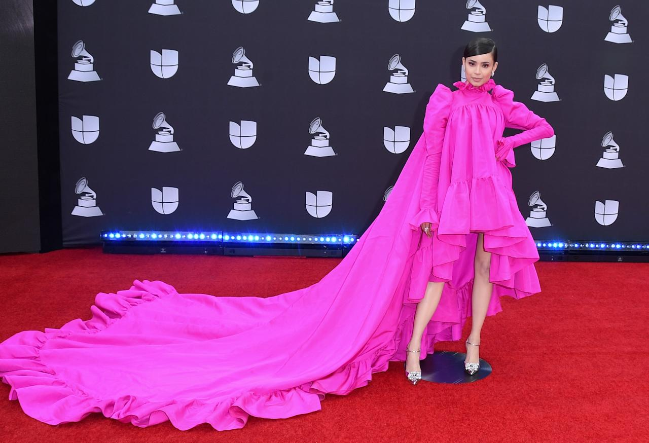 Please bury me in this pink gown. Like my memory, that train goes on forever.