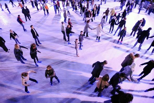 Get your skates on! Best ice rinks for winter 2012/13