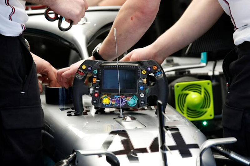 Formula One: Mercedes DAS Steering Wheel to Be Outlawed after This Season
