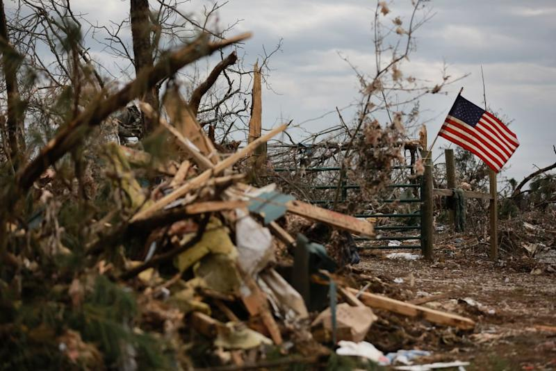 8 Killed, Dozens Injured As Strong Storms Sweep Southern U.S.