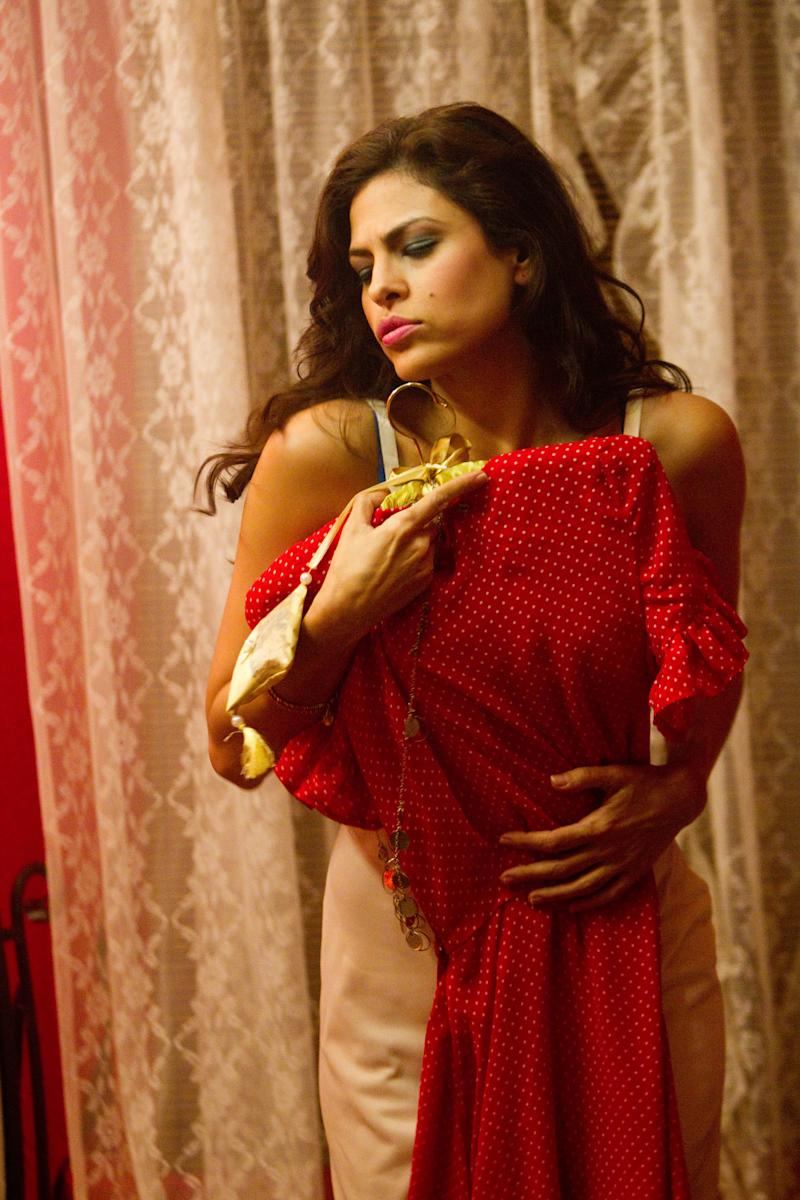 """In this film image released by Pantelion Films, Eva Mendes is shown in a scene from """"Girl in Progress."""" (AP Photo/Pantelion Films, Bob Akester)"""