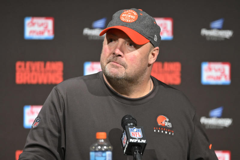 The New York Giants are reportedly hiring Freddie Kitchens as tight ends coach. (AP/David Richard)