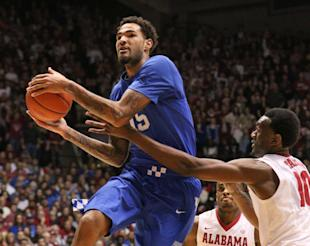 Kentucky's Willie Cauley-Stein drives for a shot during a win over Alabama. (USAT)