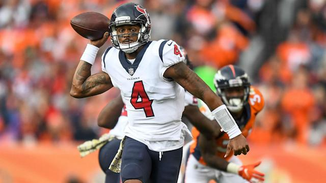 The Houston Texans' winning streak reached six with a 19-17 victory over the Denver Broncos on Sunday.