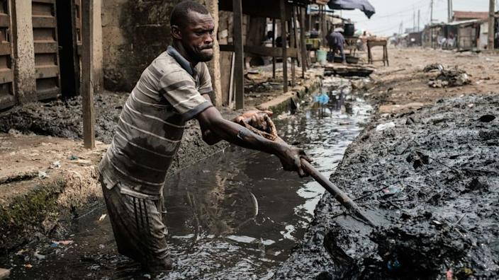 Many Nigerians in cities live in appalling conditions