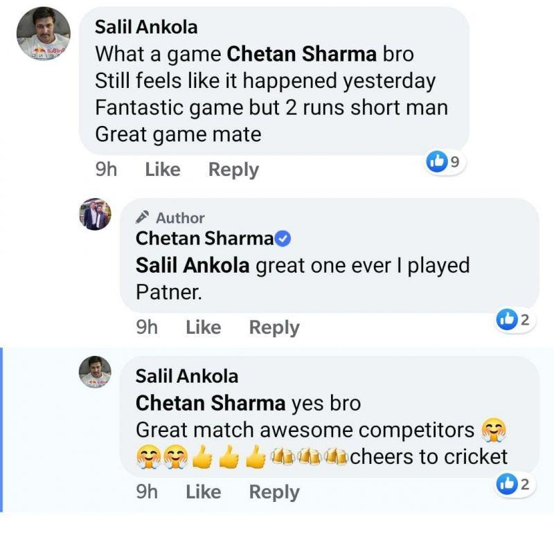 Salil Ankola was a part of Bombay's playing XI
