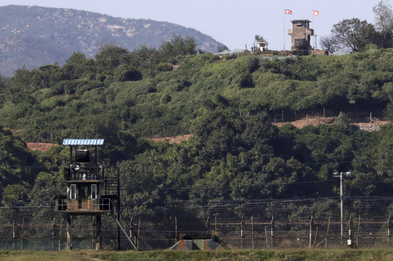 North and South Korea removing landmines along border
