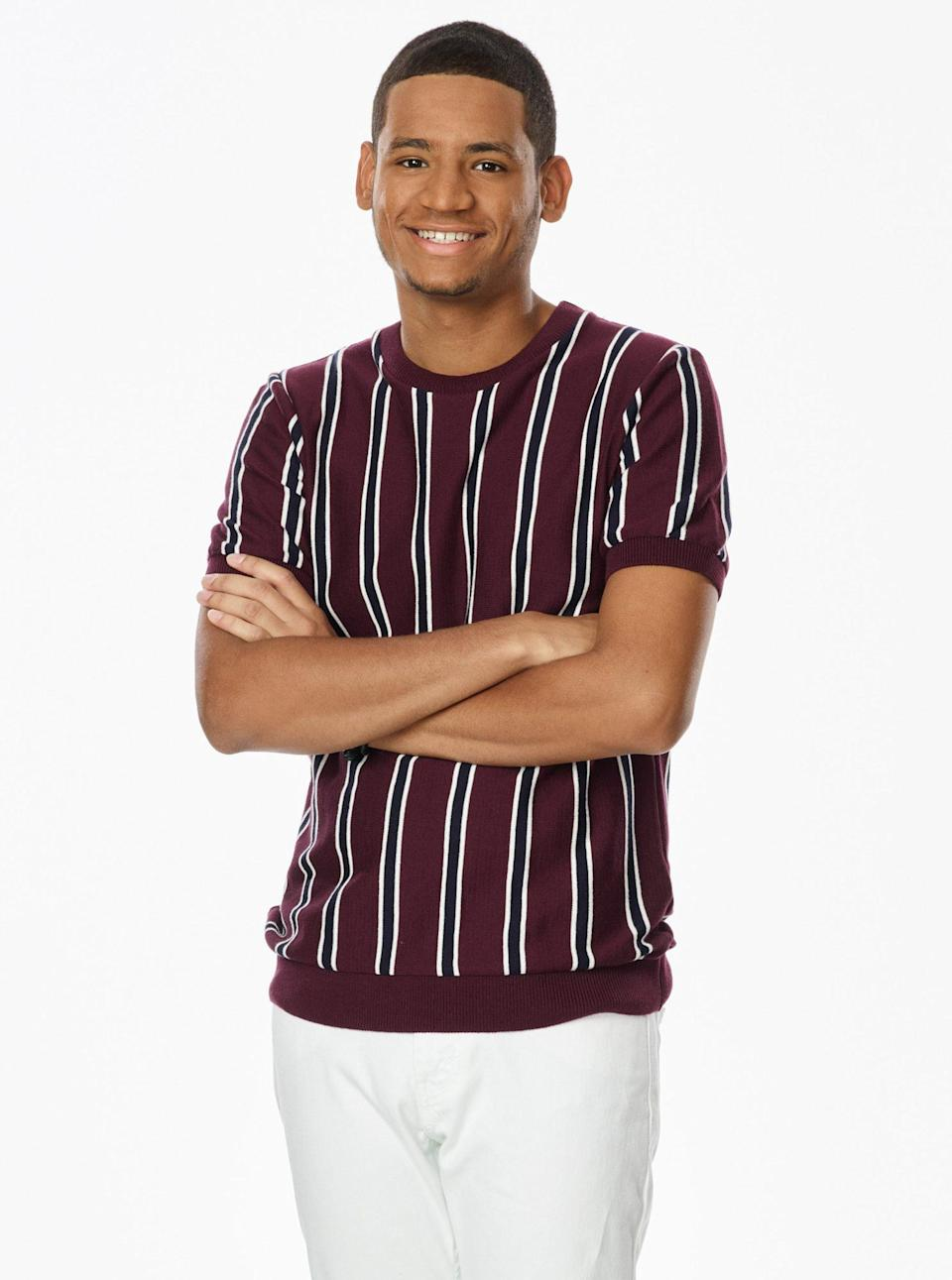 """<p><strong>Age:</strong> 19</p> <p><strong>Hometown:</strong> New York, New York</p> <p><strong>Resident:</strong> McAllen, Texas</p> <p>Garcia was born with music in his blood. His father is a Spanish musician and inspired him to learn the guitar at 6 years old. After he started singing to accompany his guitar playing, Garcia decided to showcase his skills for the first time at his seventh grade talent show. With some encouragement from his friends, Garcia knew he had to pursue his love for music and began songwriting. Three years ago, he got the chance to tour with his dad around the U.S., Colombia and Mexico, which only reinforced his love for performing. Garcia comes to <em>The Voice</em> to prove he is ready for the spotlight. </p> <p>""""I'm super excited to have the chance to work with the coaches,"""" he says. """"The experience of having chairs turned for me was like no other because it helped me prove to myself that I have what it takes to make it big.""""</p>"""