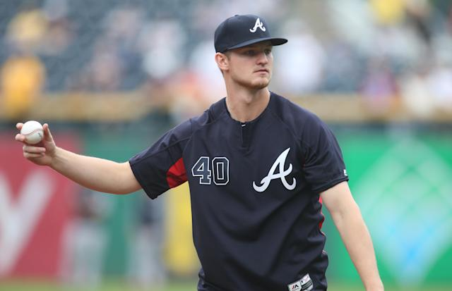 Braves pitcher Mike Soroka has had a stellar season at just 22 years old. (Charles LeClaire-USA TODAY Sports)